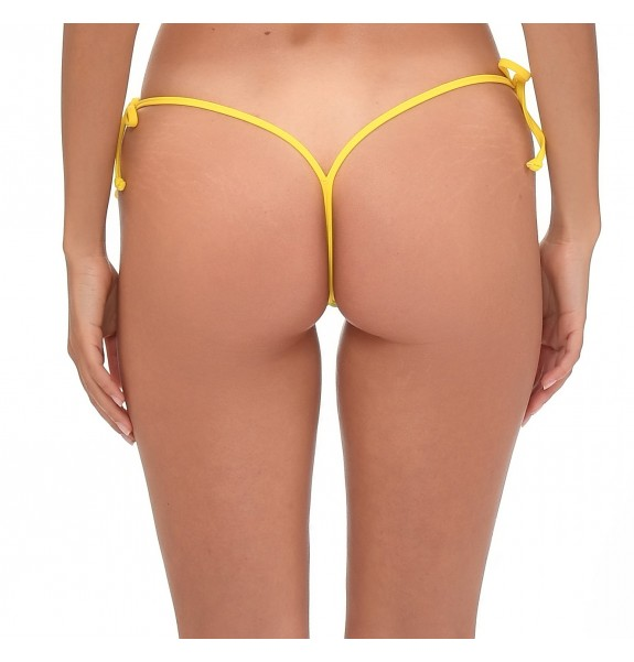 Blanche Giallo Shorts Bottom