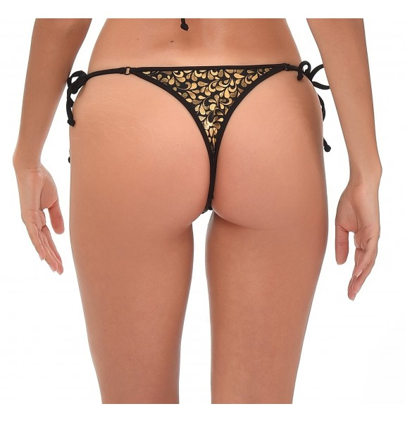 Cameron Fluo Orange Frou Frou Bottom